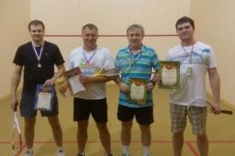 В Рязани состоялся первый турнир по сквошу
