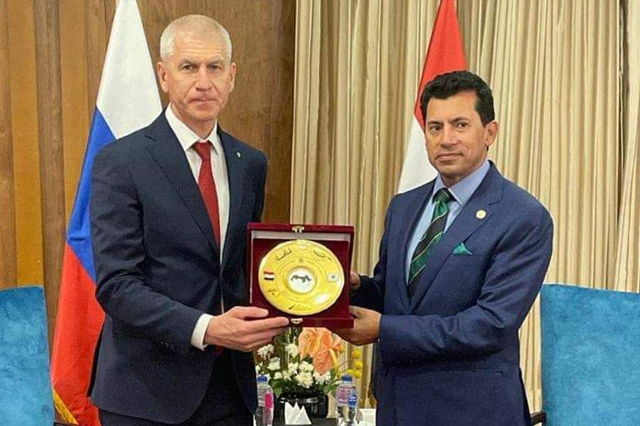 23 мая 2021 года состоялось подписание Меморандумао сотрудничестве между Министерством спорта РФ и Министерством молодёжи и спорта Египта