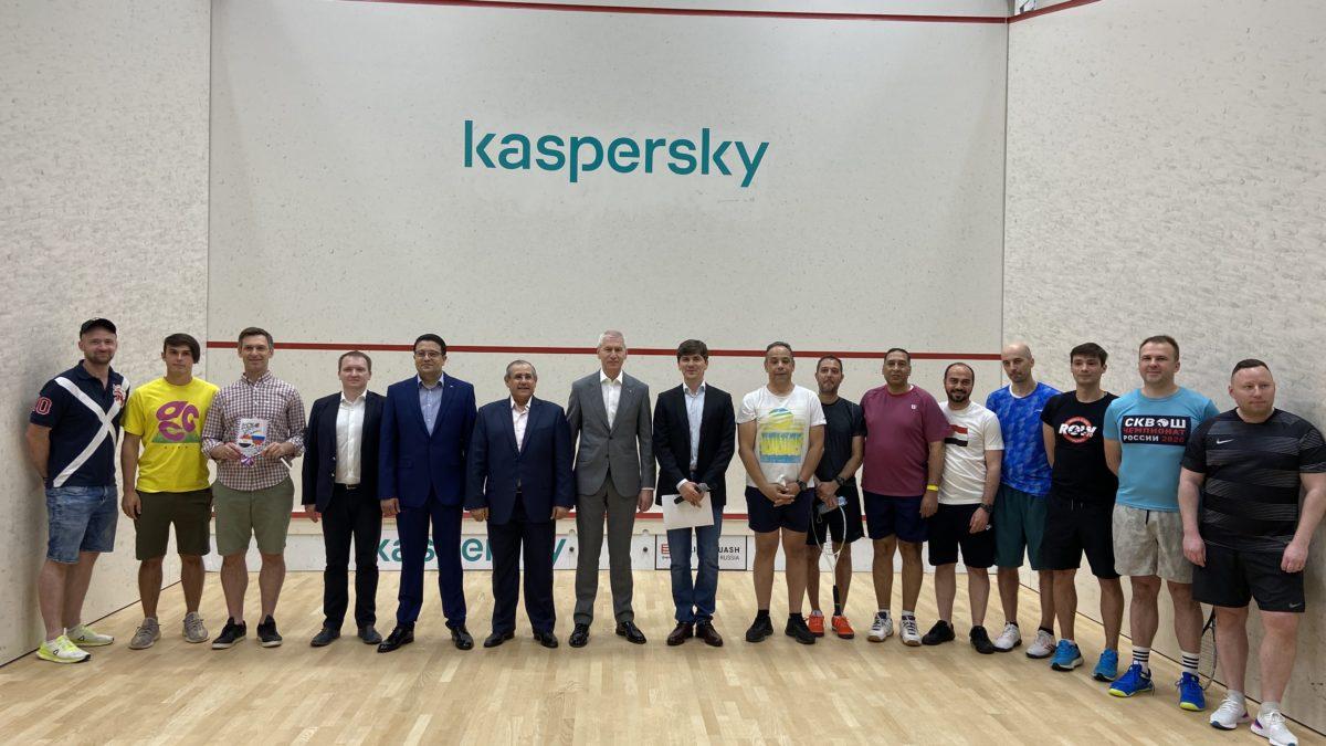 19 июня 2021 года в Национальном сквош центре состоялась встреча Министра Спорта РФ О.В. Матыцина и Посла Египта Ихаба Талаат Наср