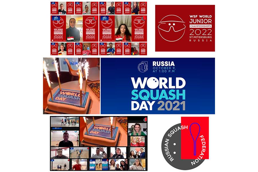 World Squash Day 2021 в России